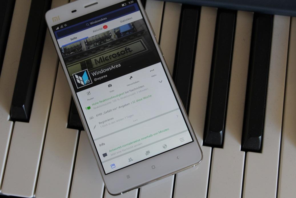 Facebook und Messenger für Windows 10 Mobile jetzt 2GB RAM