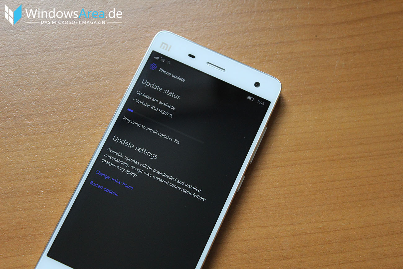 Windows 10 Mobile Insider Build 14367