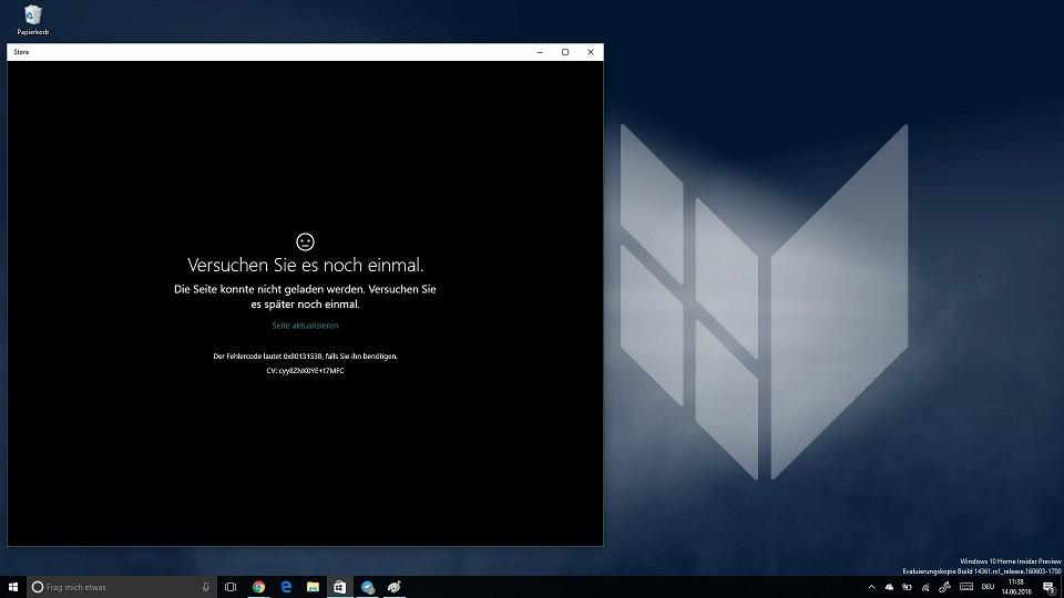 Windows Store Down