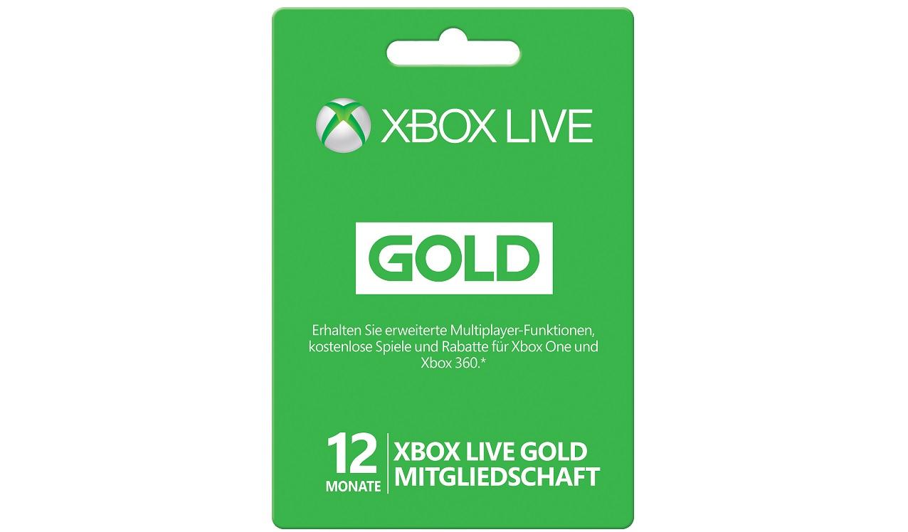 Xbox Gold Preis