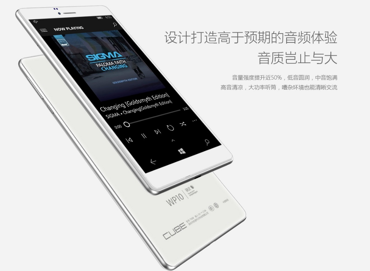 Cube WP10 Windows 10 Mobile Smartphone 1