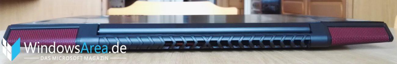 Lenovo Y700 Test Design und Haptik