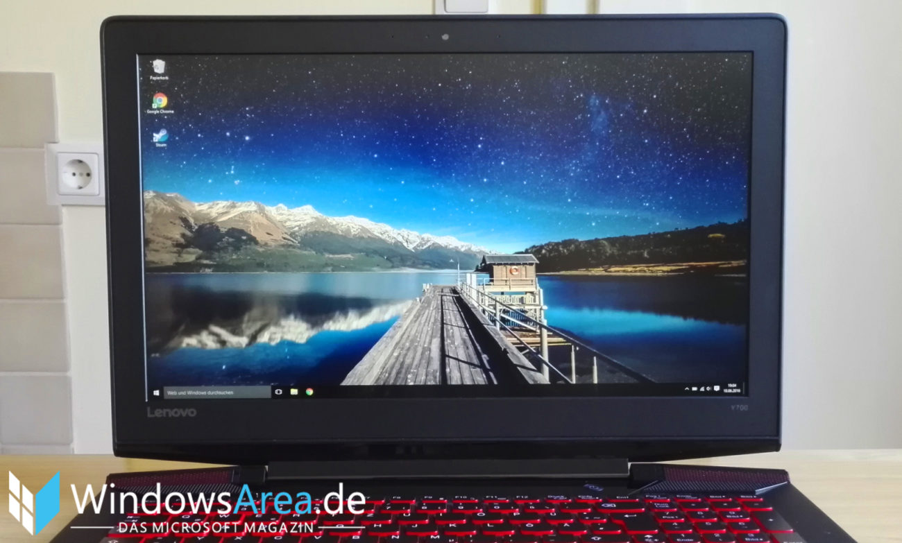 Lenovo Y700 Test Display