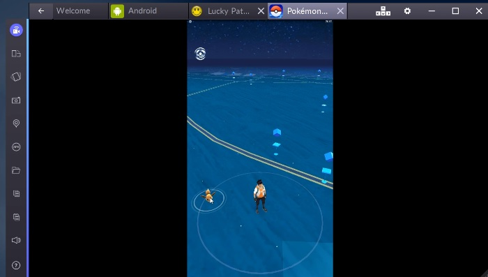 Pokemon GO Windows 10 Bluestacks