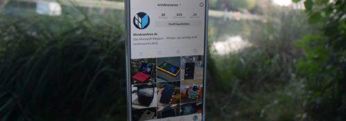 Instagram WindowsArea.de