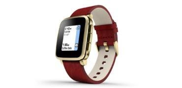 Pebble Time Steel Gold