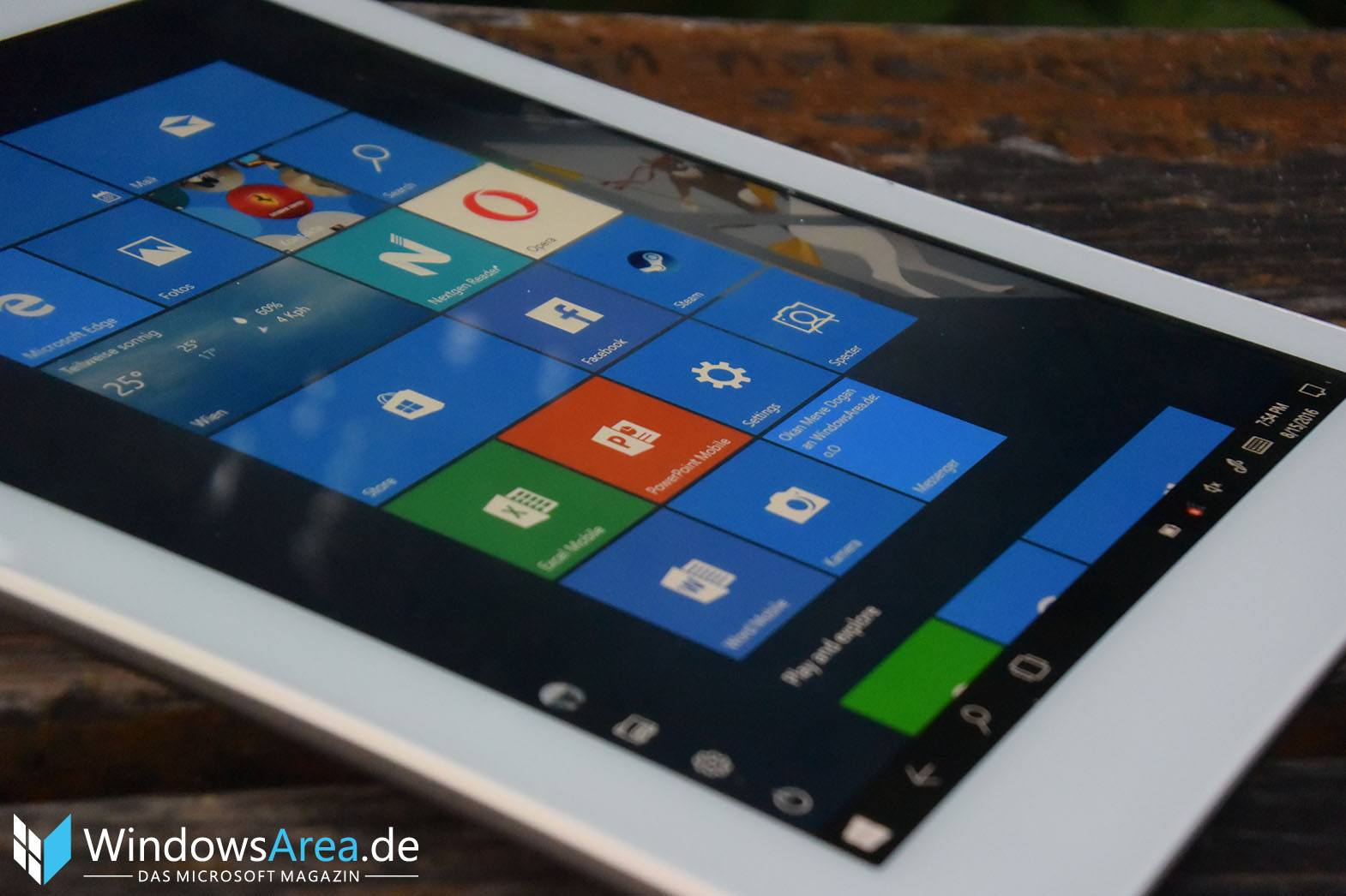 Teclast X89 Plus II Review Test Display Blickwinkel
