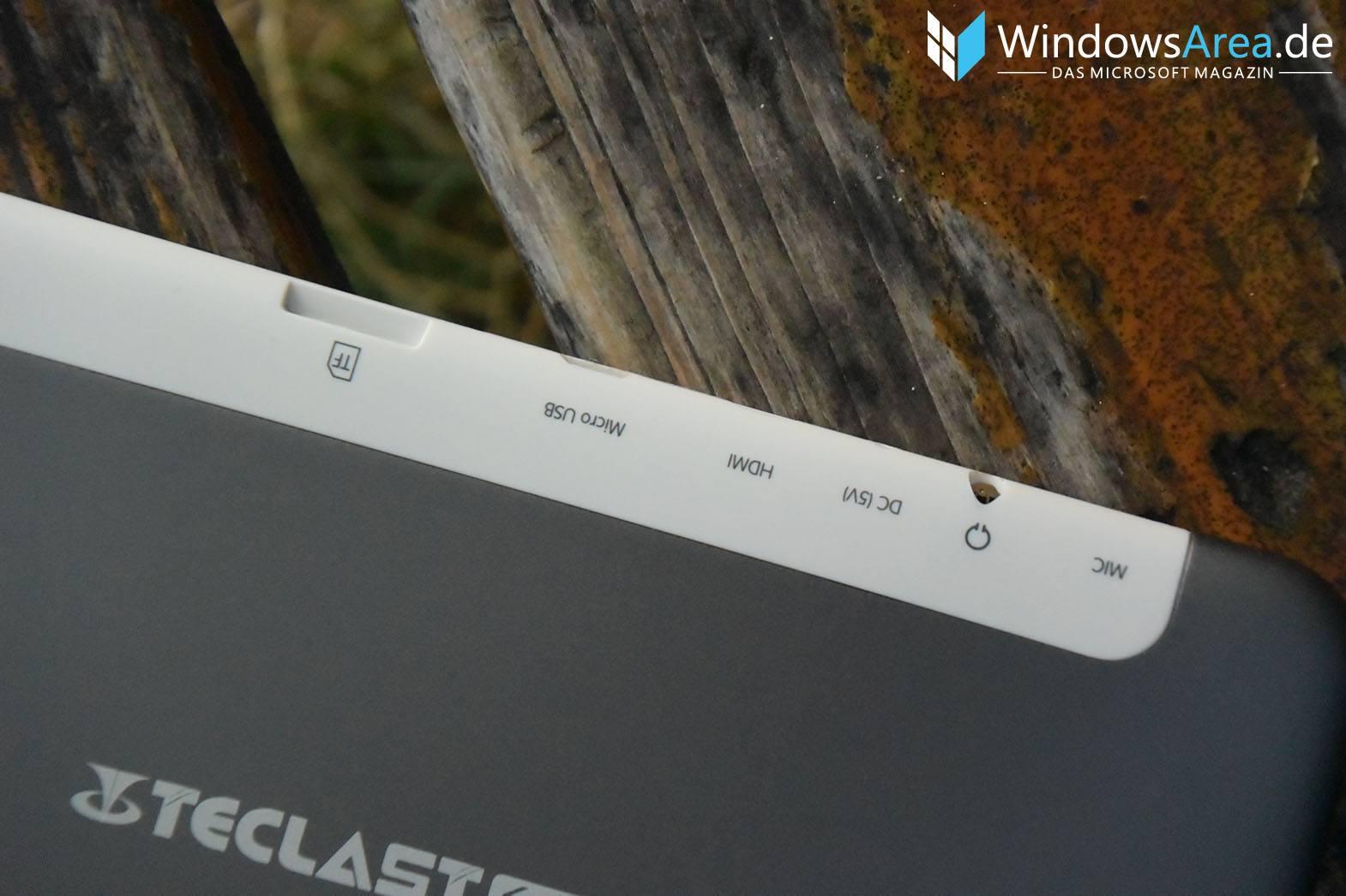 Teclast X89 Plus II Test Review Anschlüsse