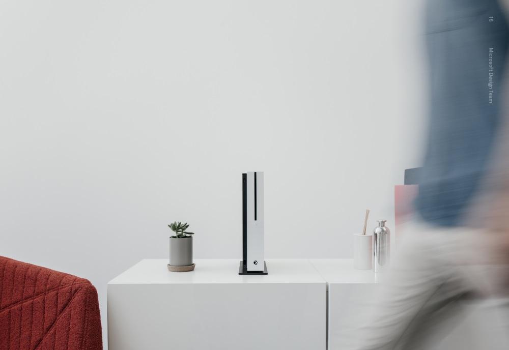 Xbox One S Design Wohnzimmer Stand
