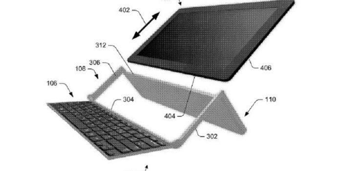 Microsoft-Patent zeigt Tastatur-Cover, das jedes Tablet zu einem Surface macht