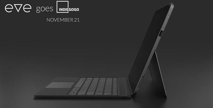 Community Tablet Eve V ab November auf Indiegogo bestellbar