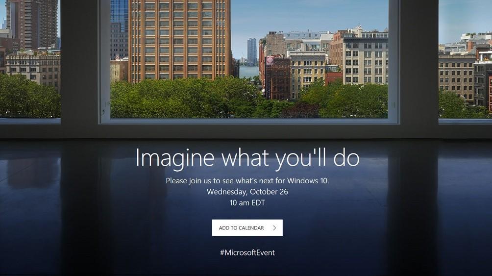 Microsoft k ndigt Event f r den 26 Oktober in New York an