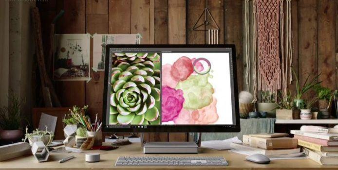 Microsoft Surface Studio offiziell vorgestellt