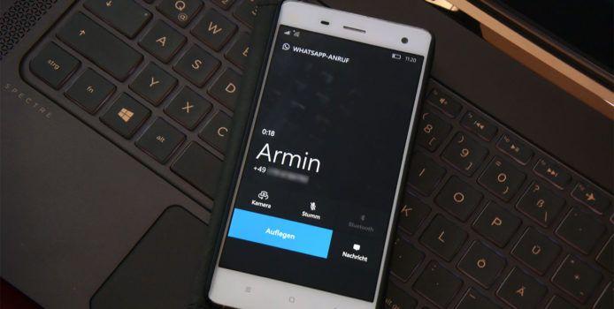Videoanrufe in der WhatsApp Beta für Windows Phone nun möglich