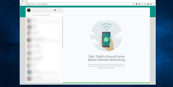 WhatsApp Web erhält Nachrichtensuche, Bilder-Zoom und mehr