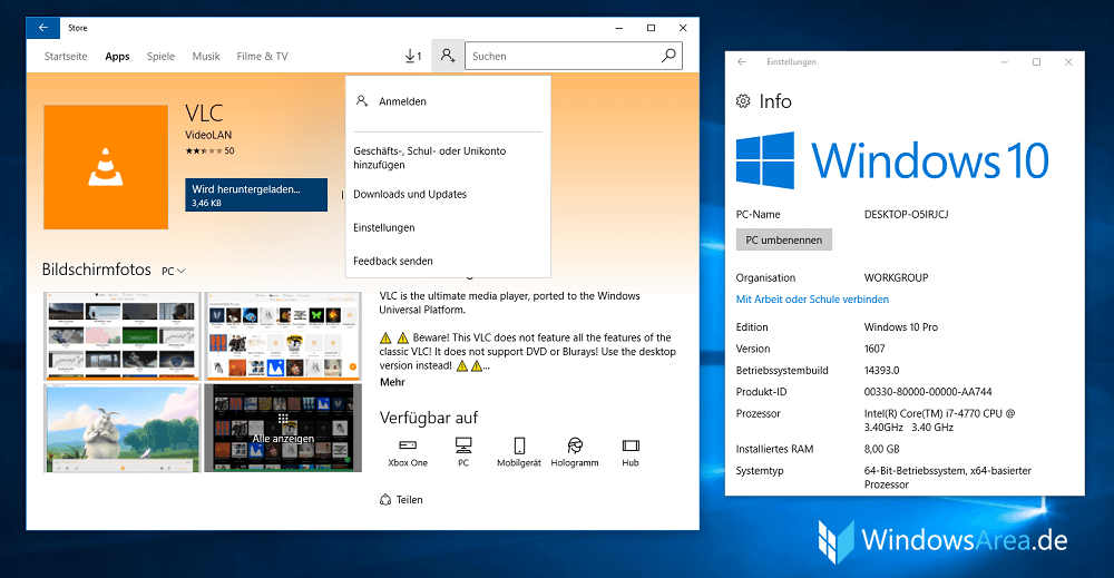 microsoft store download windows 10 pro