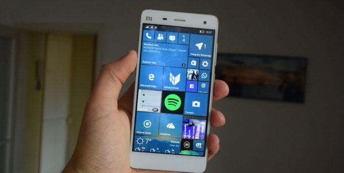 Windows 10 Mobile Build 15043 wird im Fast Ring ausgerollt