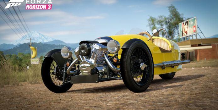 Forza Horizon 3 Logitech G Car Pack veröffentlicht