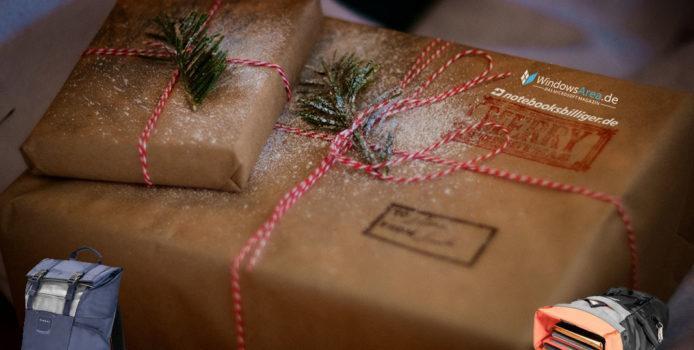 Weihnachtsgewinnspiel Teil II: notebooksbilliger & WindowsArea.de verlosen zwei Laptop-Rucksäcke im Wert von je 100 Euro