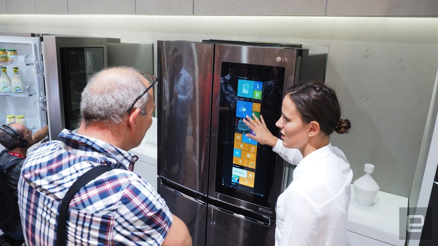 Kühlschrank Lg : Lg arbeitet weiterhin an einem kühlschrank mit windows