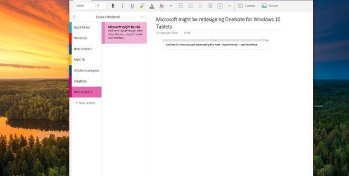 """An OneNote senden"": Virtueller Drucker kommt in den Windows Store"