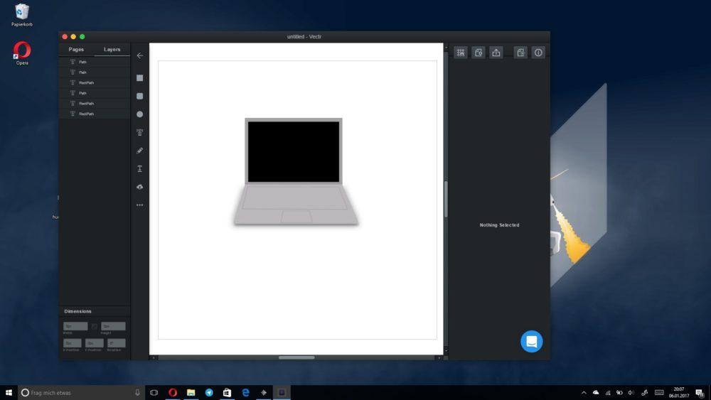 windows app erstellen
