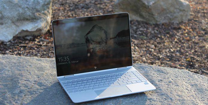 HP Spectre x360 Test: Das beste Ultrabook 2017