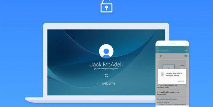 Samsung Flow: Galaxy-Smartphones können bald Windows 10-PCs entsperren