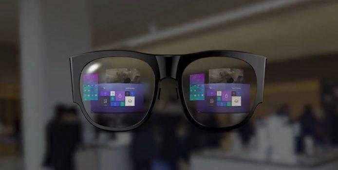 Monitorless: Samsung zeigt Augmented Reality-Brille am MWC 2017