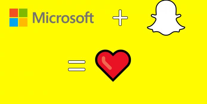 Aprilscherz Rückblick: Microsoft kauft Snapchat
