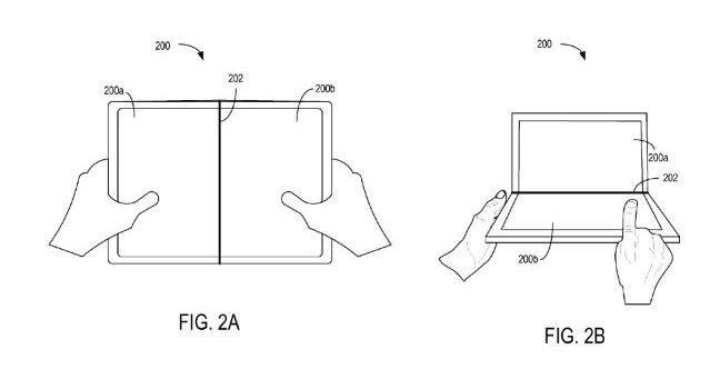 Neues Microsoft-Patent beschreibt Smartphone mit biegsamen Display