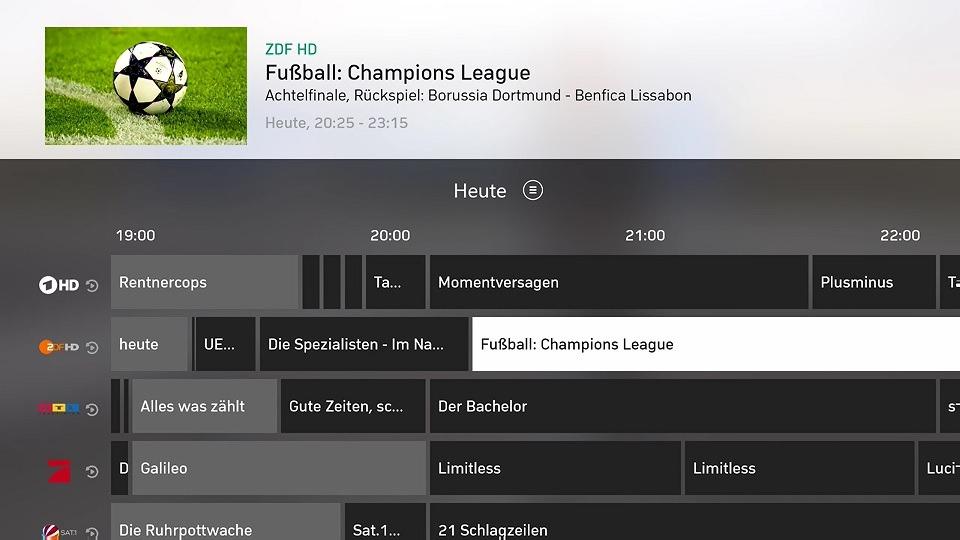 Gewinnspiel: Zattoo Live TV für Xbox One und Windows 10 im Test