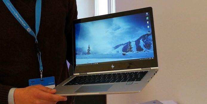 HP EliteBook x360: Hands-On mit dem dünnsten Business-Convertible der Welt