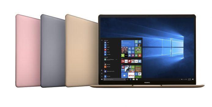 Huawei MateBook X: Hersteller präsentiert Notebook mit Windows 10