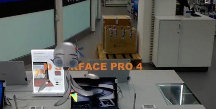 Video: HoloLens führt Besucher durch Saturn-Filialen