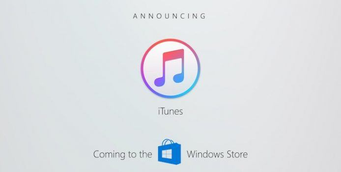 """iTunes: Release im Microsoft Store steht offenbar """"kurz bevor"""""""