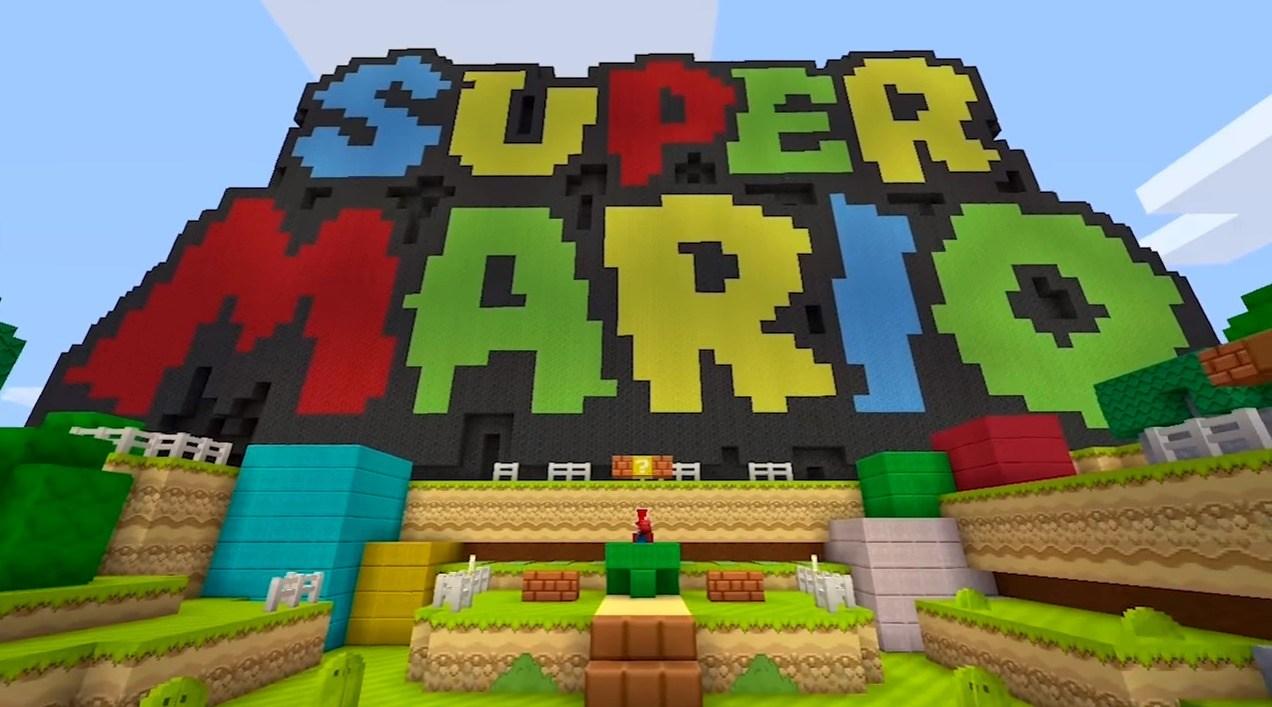 Minecraft SwitchEdition Ab Sofort Verfügbar - Minecraft mario spiele