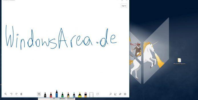 Microsoft Whiteboad-App vom Surface Hub für Windows 10-Geräte durchgesickert