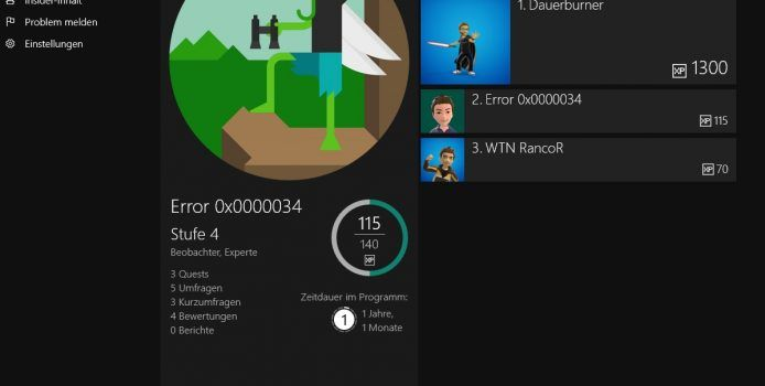 Xbox Insider Hub erscheint für Windows 10 PCs