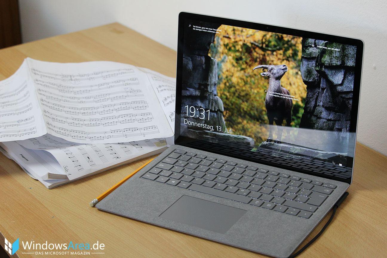 surface laptop test das zweitbeste notebook von microsoft. Black Bedroom Furniture Sets. Home Design Ideas
