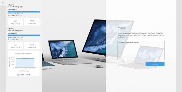 Microsoft Surface Diagnose-Tool ab sofort im Windows Store