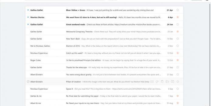 Newton Mail – Beliebte macOS Mail-App erscheint für Windows 10