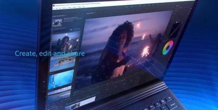 Video: Zeigt Intel hier ein schwarzes Surface Book 2?