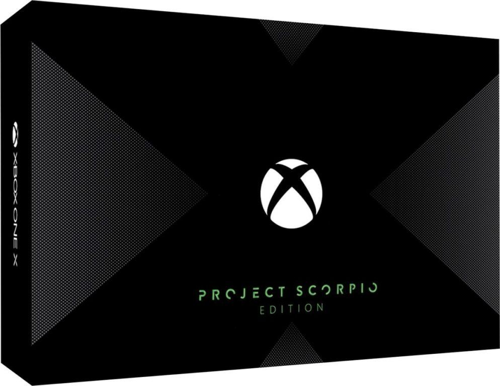 Xbox One X vorbestellen - Project Scorpio Edition