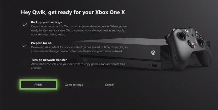 Xbox One X – Microsoft gestaltet Wechsel so einfach wie möglich