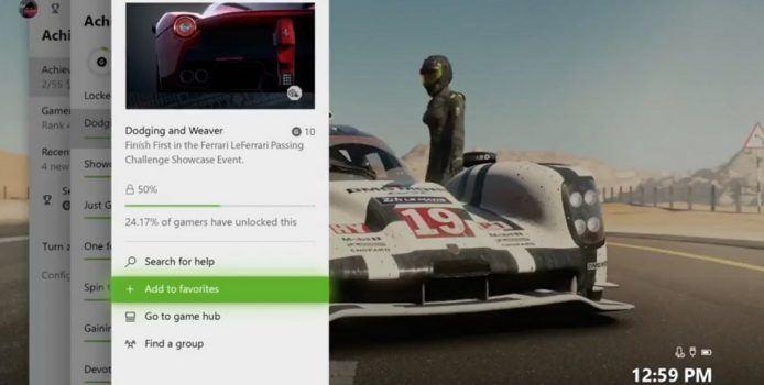 Xbox One – Screenshots zeigen Oberfläche im hellen Design