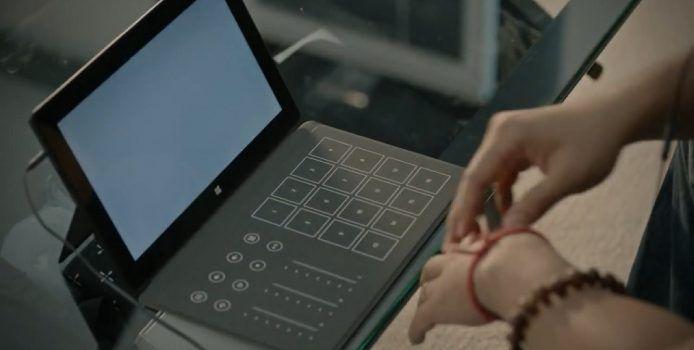 Unveröffentlichtes Surface Music Kit-TouchCover wird auf eBay verkauft