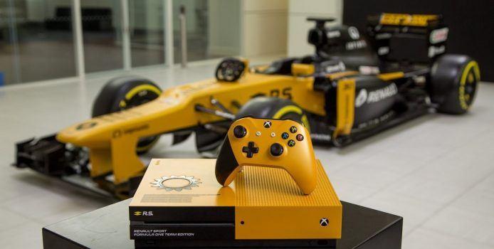 Gewinnspiel: Microsoft verlost Xbox One S im Renault F1-Design