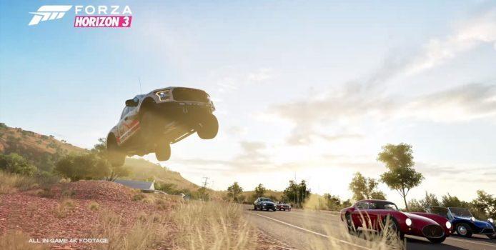 Forza Horizon 3 erhält Xbox One X-Patch mit 4K-Auflösung