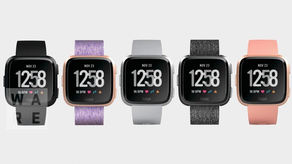Erste Bilder Der Günstigeren Fitbit Smartwatch Durchgesickert